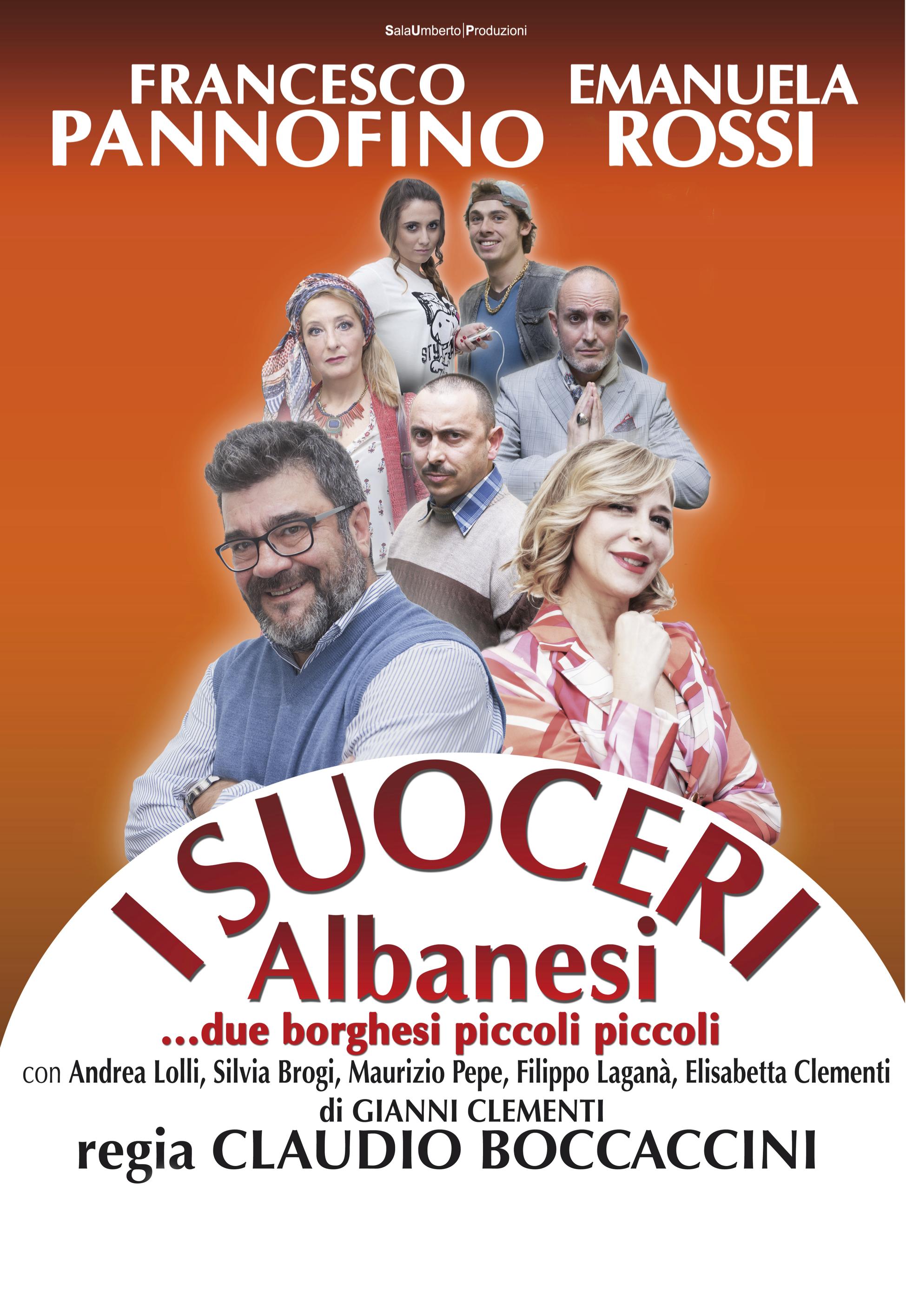 I suoceri Albanesi con Emanuela Rossi, locandina
